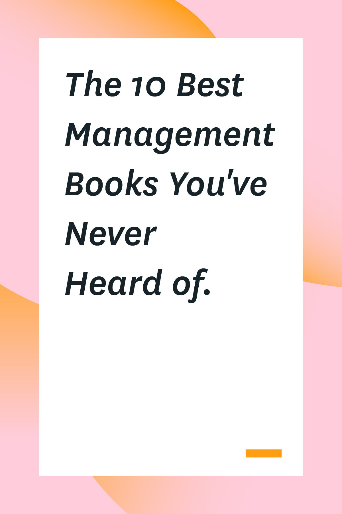 These project management books will give you unique tactics to boost your productivity and guide your team to greater success. #projectmanagement