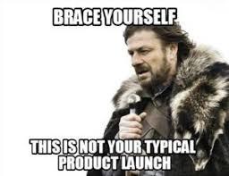 product launch meme