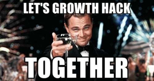 growth hack together meme